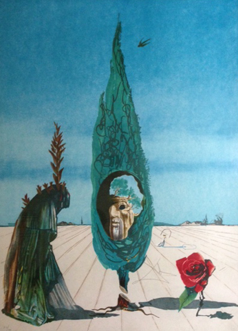 Visions Surrealiste Enigma of the Rose (Death) 1976