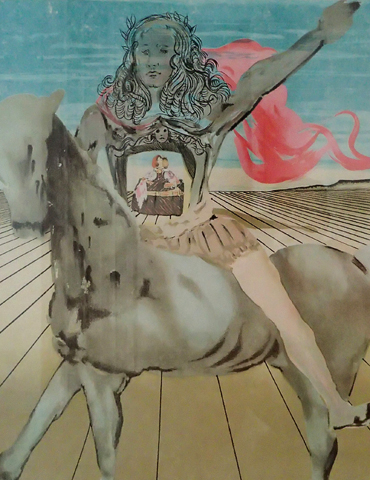Chevalier Surrealiste 1980