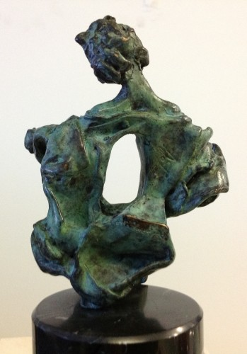 La Madone De Port Lligat Bronze Sculpture 1969 9 in