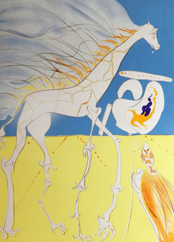 Conquest of Cosmos Saturnian Giraffe 1974