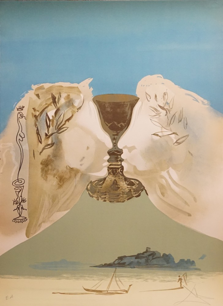 Chalice of Love 1976 by Salvador Dali