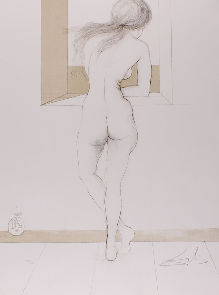 Nude At the Window 1970