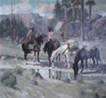 Untitled Cowboys 1965