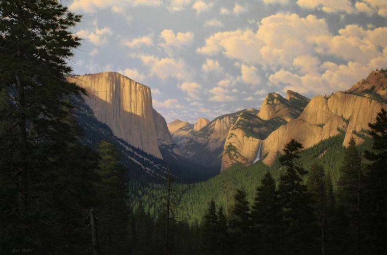 Summer Evening - Yosemite Valley 2006 40x60