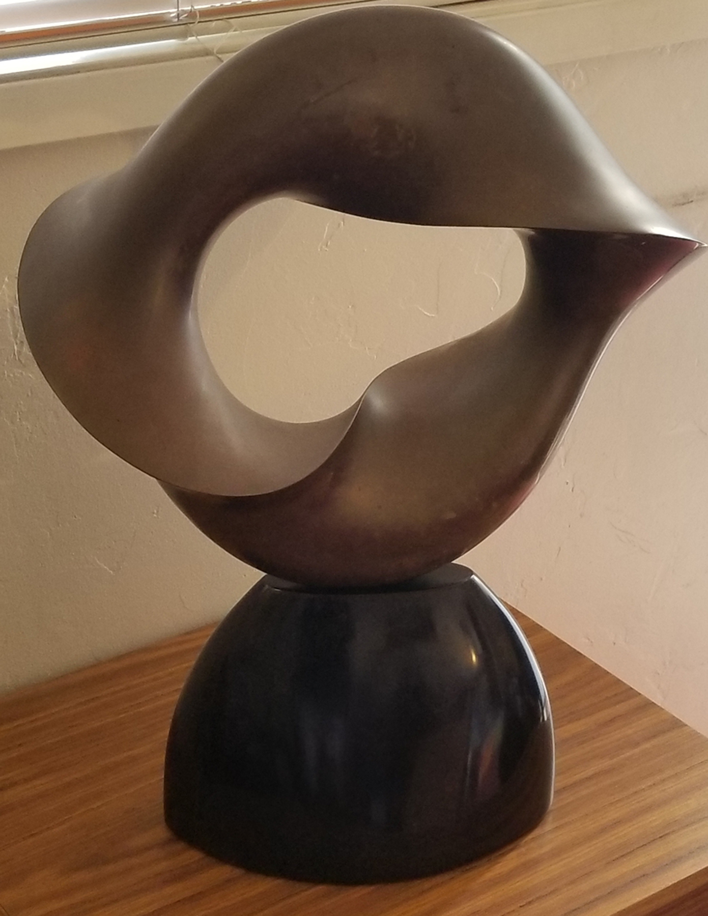 Untitled Bronze Sculpture 1985 22 in
