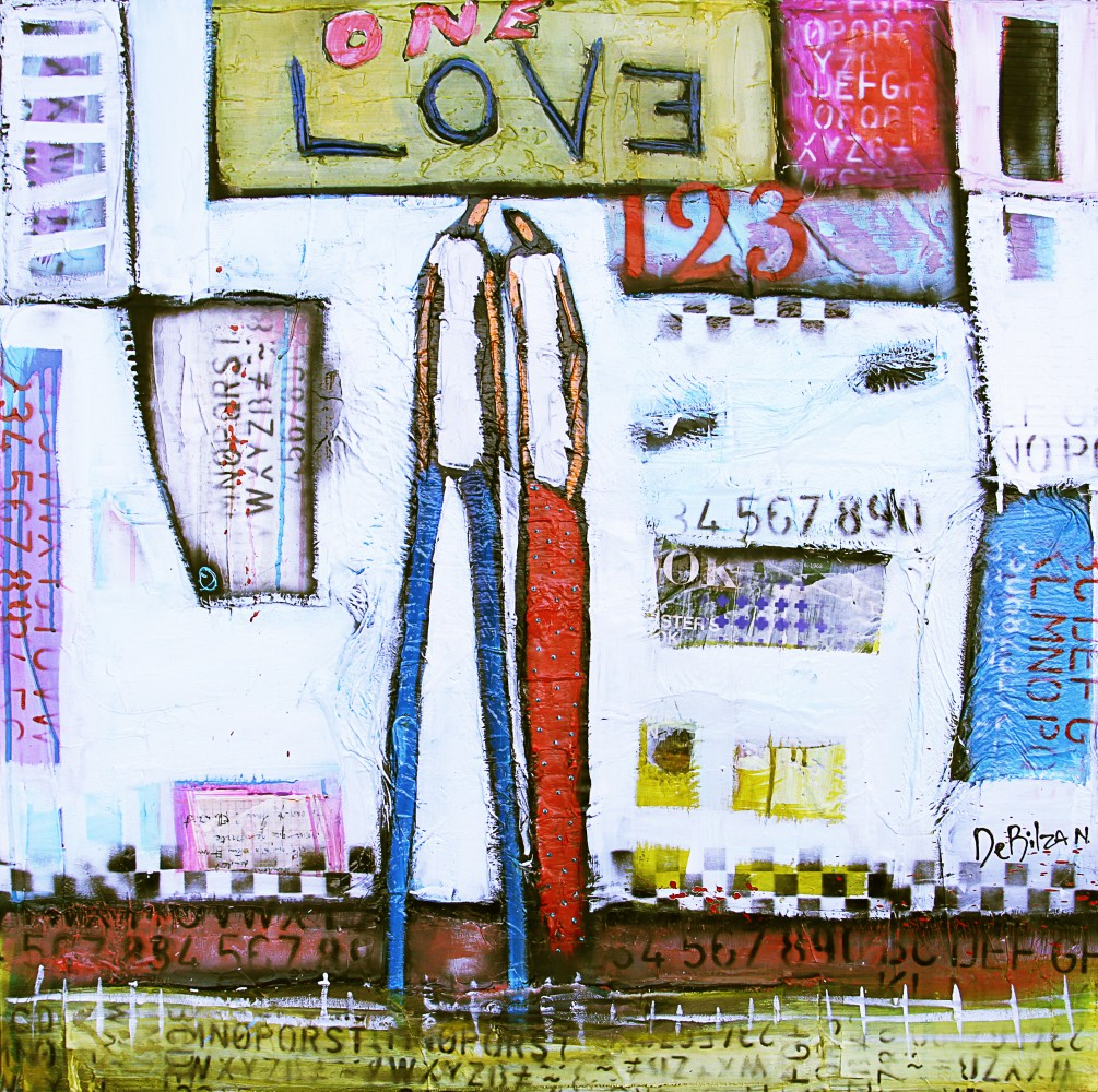 One Love 2017 44x46 by William DeBilzan