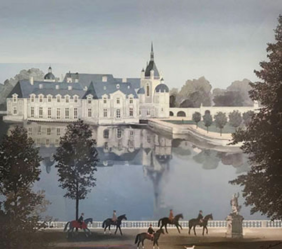 Chateau De Chante (Chateau De Chantilly) 1990