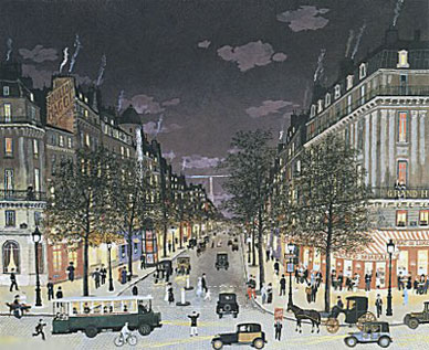 Les Grands Boulevards La Nuit, Paris 2001