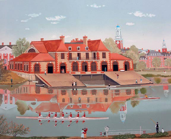 Weld Boathouse 1986
