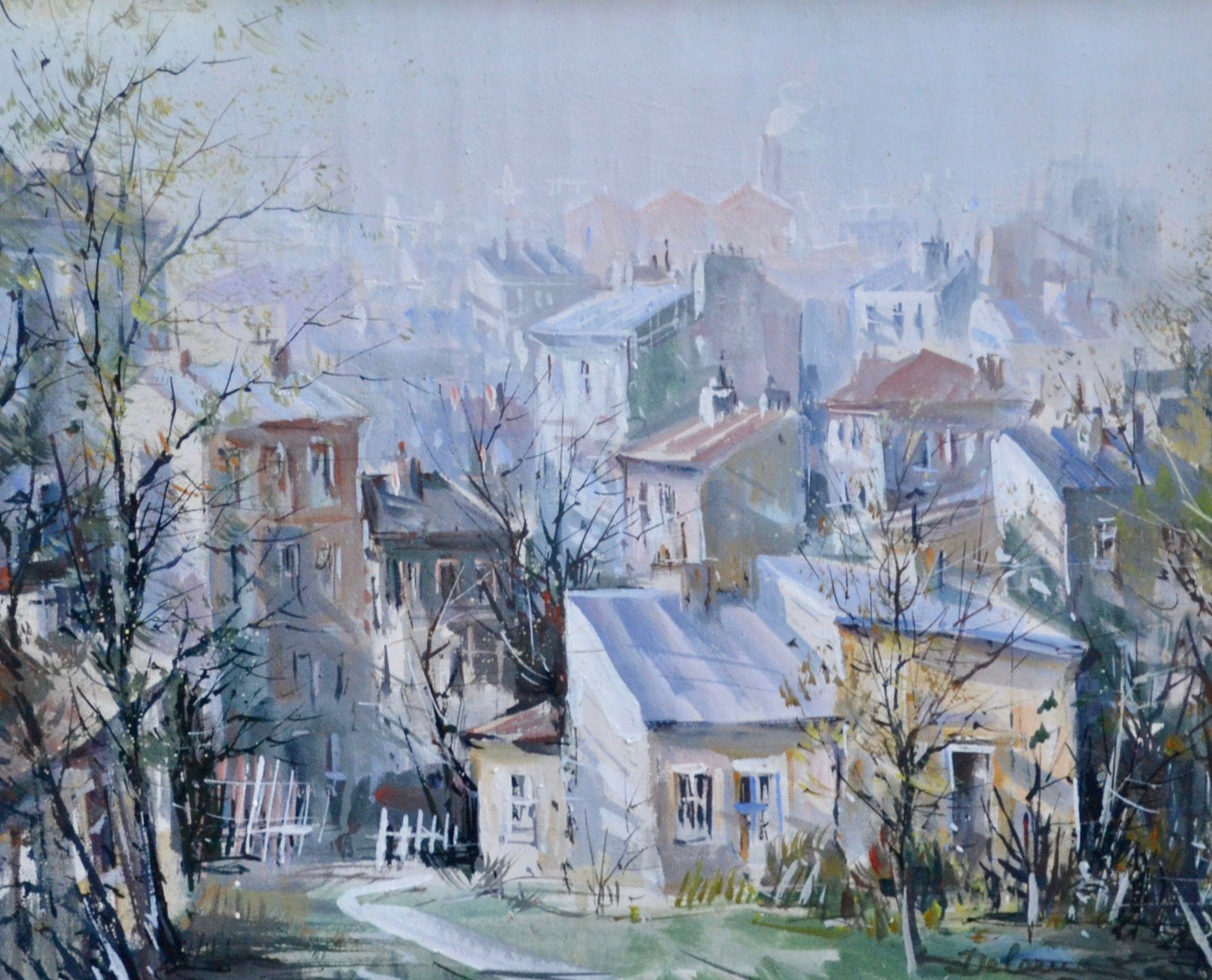 Belleville, Paris 25x29