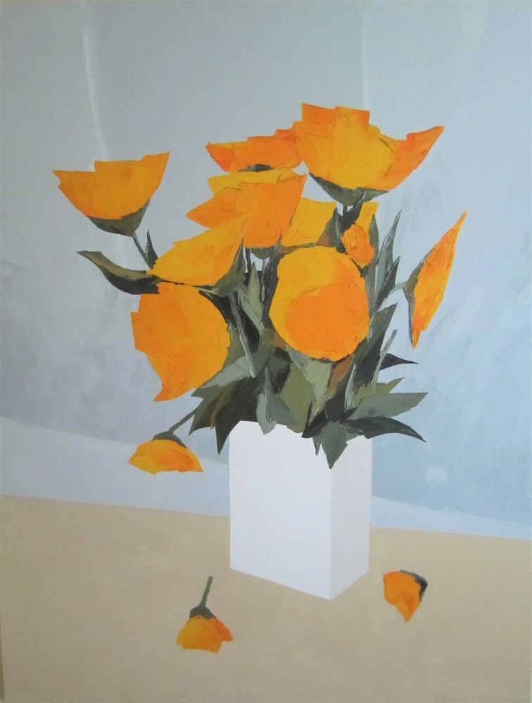 Sunshine Poppies 2007 57x45