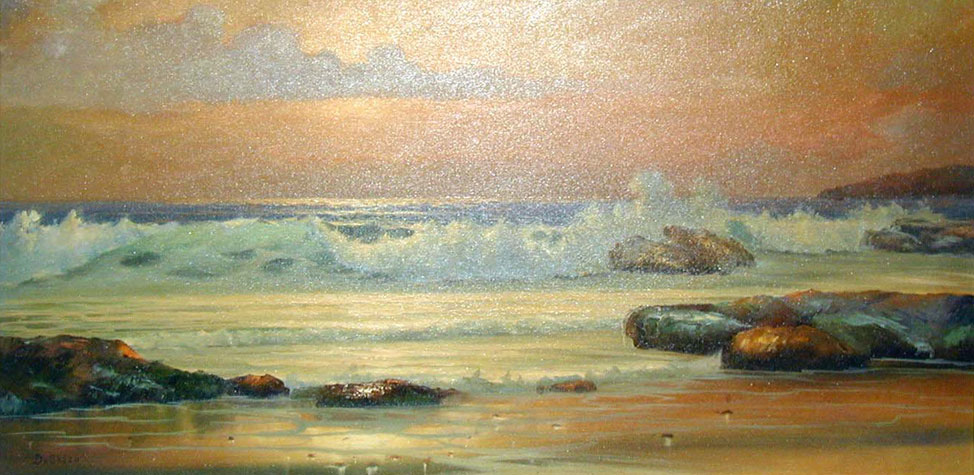 Seascape 1966 (Point Loma) San Diego 49x25