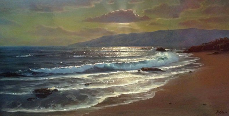 Serenity of the Islands 23x41