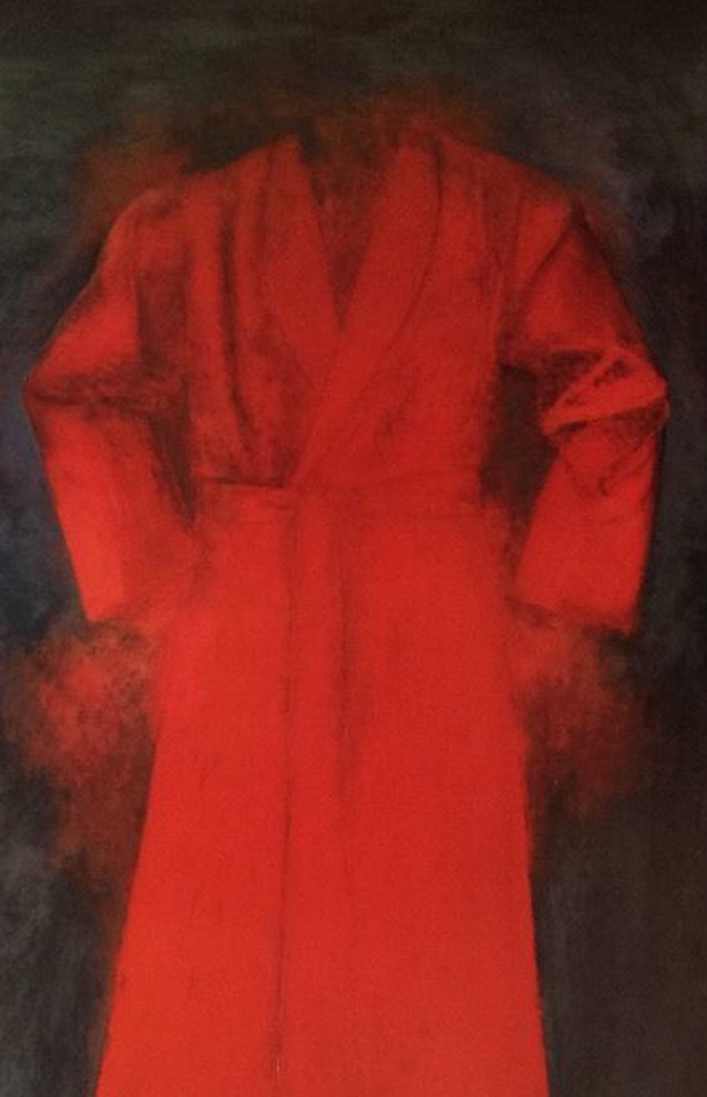 Red Bathrobe Poster 1976 HS