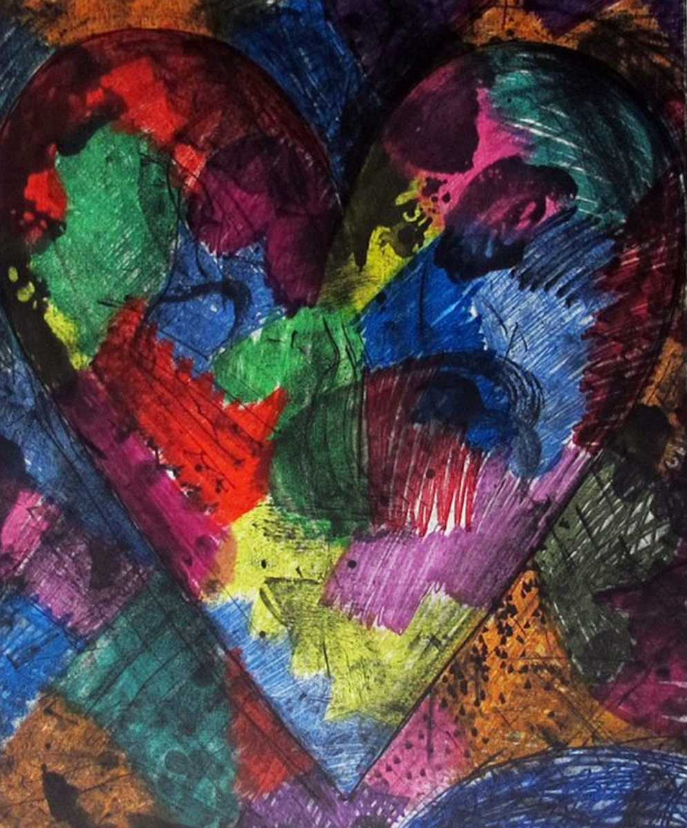 A Heart Called Washington AP 2014 by Jim Dine