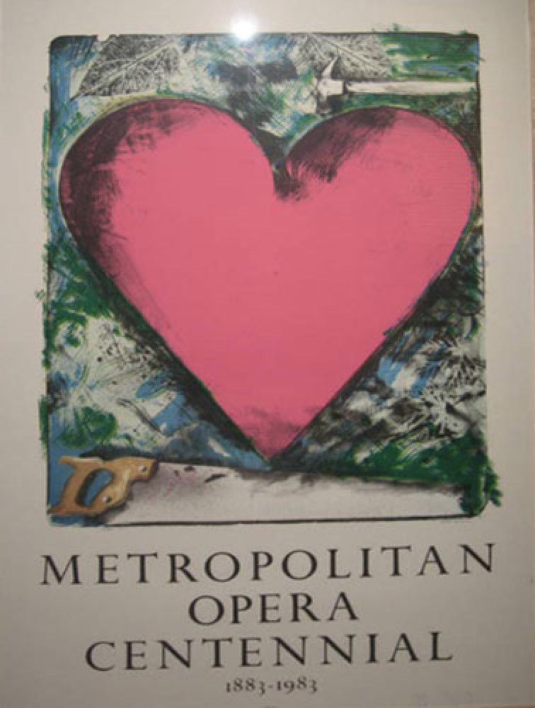 A Heart At the Opera Poster 1983
