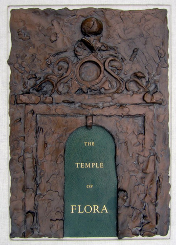 Temple of Flora, 28 Etchings, With Signed Book, Signed Graphic, and Bronze 1985