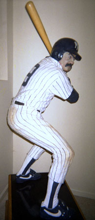 Bases Loaded (New York Yankees) Hyrdocal Life Size Sculpture 1990