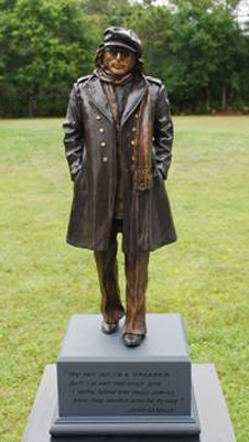 Imagine Bronze Sculpture (John Lennon) 2013