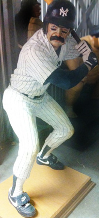 Bases Loaded Don Mattingly Sculpture 1990