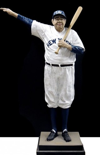 Babe Ruth - Called Shot Resin Sculpture 1995