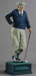 Golfer Resin Sculpture 1989 70 in