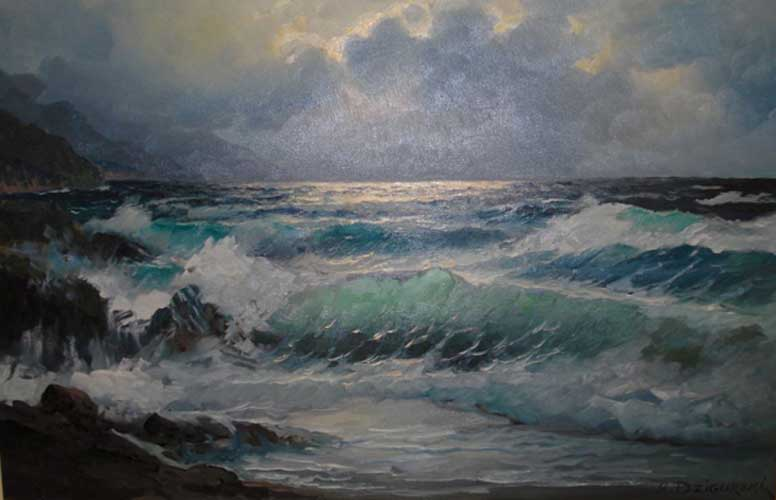 Untitled Seascape 30x42