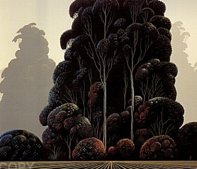 Autumn 1981 by Eyvind Earle