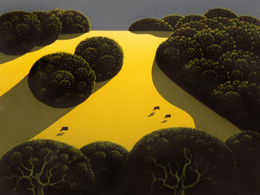Alamo Pintado 1975 by Eyvind Earle