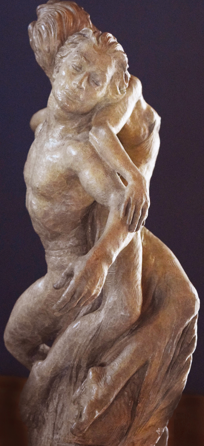 Rapture Bronze Sculpture 1997 37 in