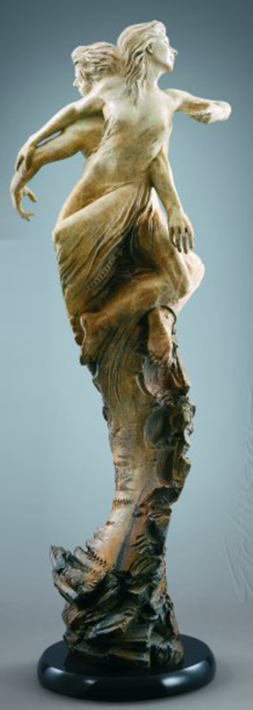 Rapture Bronze Sculpture Life Size 2007 54 in