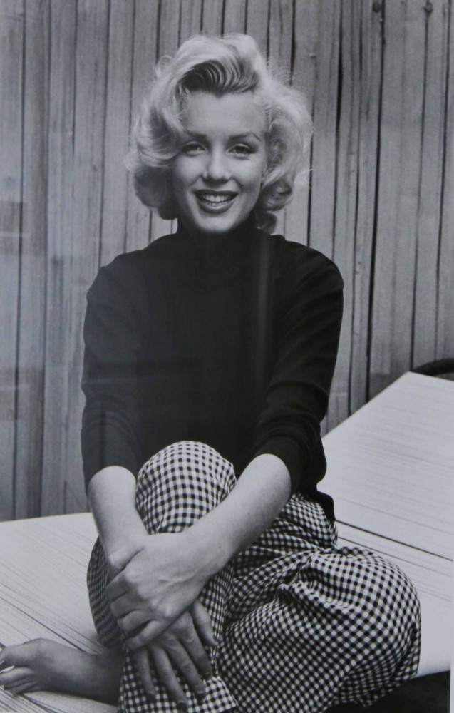 Marilyn Monroe in Checkered Pants  1953 1989