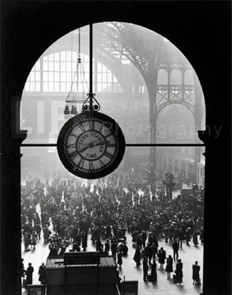 Farewell to Servicemen, Pennsylvania Station, NYC, 1943