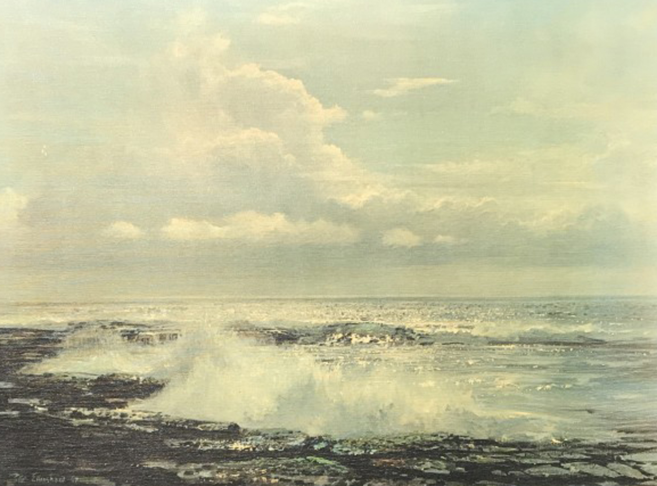 Untitled Seascape 1967 31x25