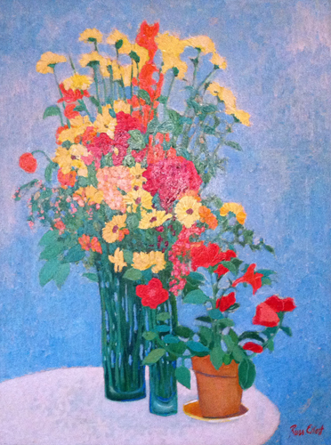 Yellow Flowers 41x31