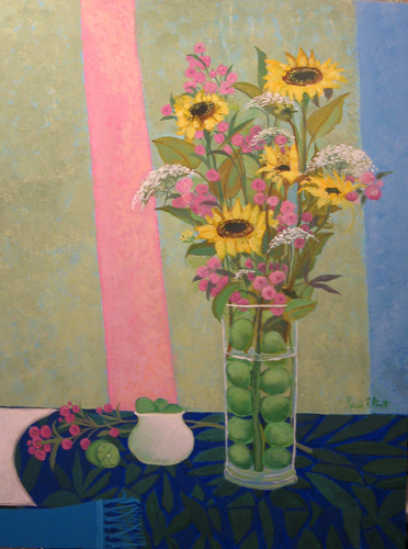 Sunflower Vase 1997 40x30