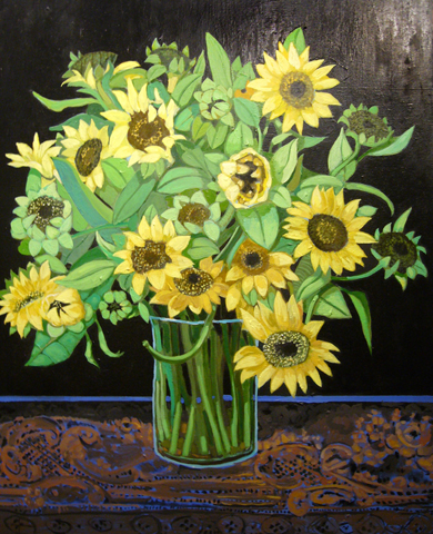 Sunflowers 2008 40x30