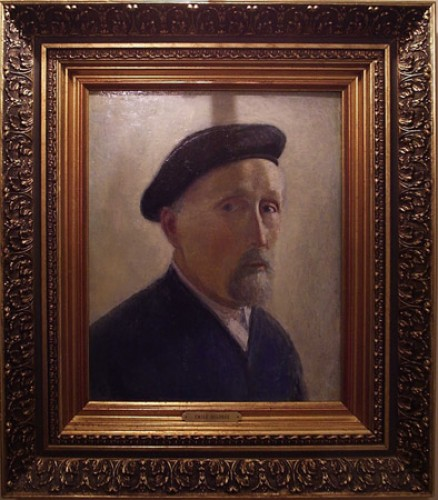 Untitled Self Portrait in Beret 1953