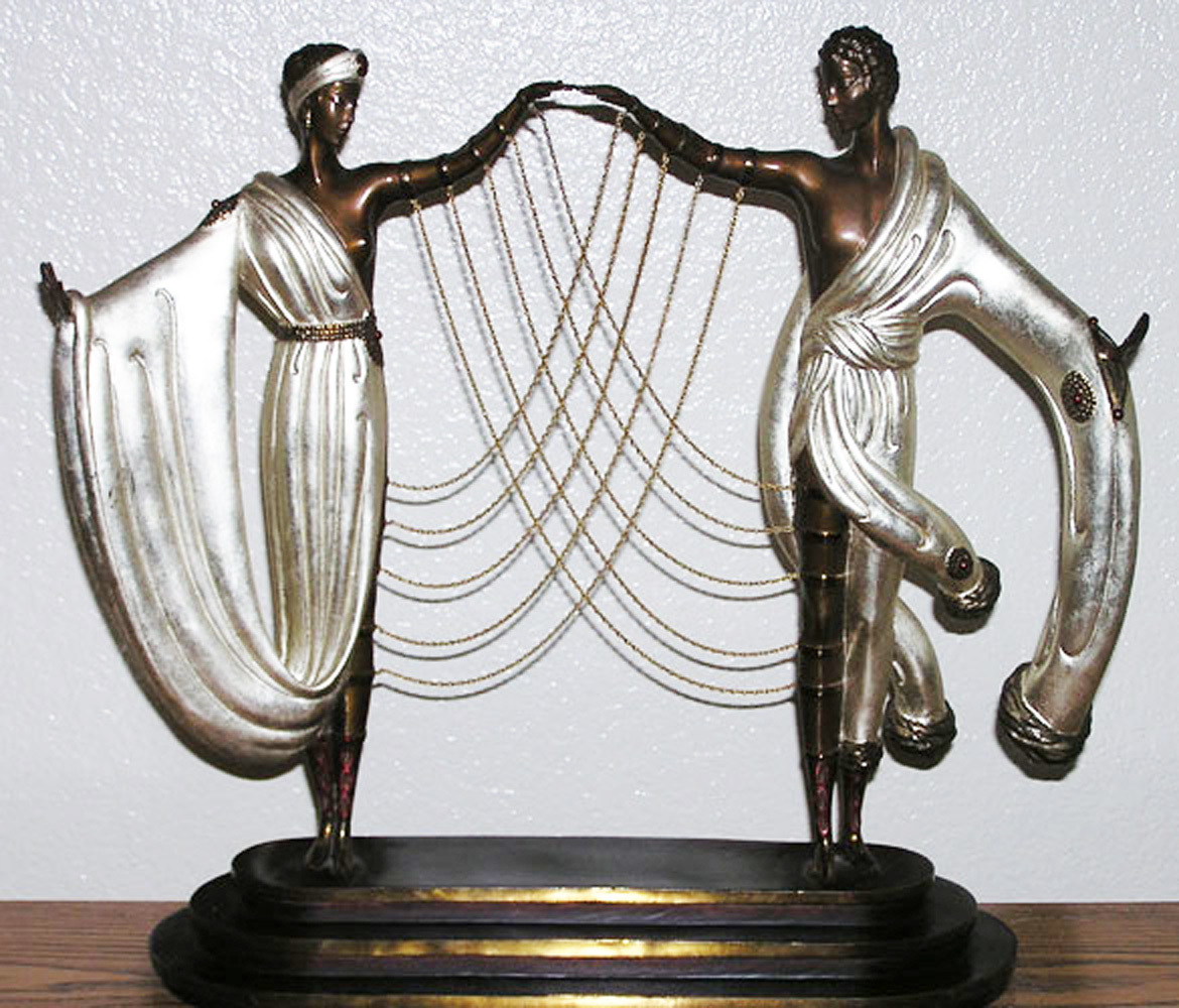Wedding Bronze Sculpture 1986 18 in