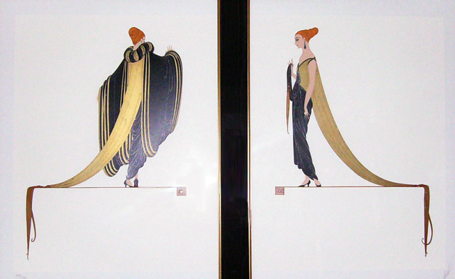 Ready for the Ball, Diptych 1982