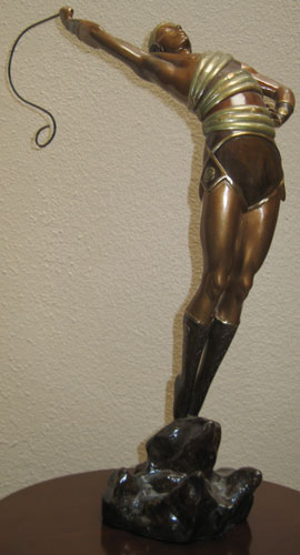 Le Danseur Bronze Sculpture 1982
