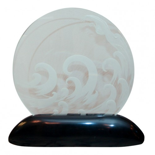 Wave Glass  Lumiere