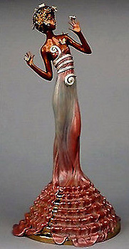 Fantasia Bronze Sculpture 1988