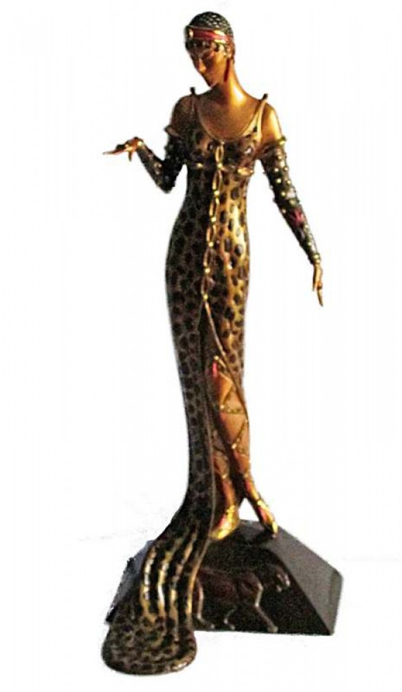 Julietta Bronze Sculpture 1987 18 in