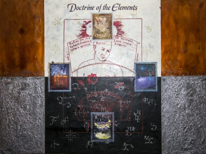 Doctrine of the Elements 48x64