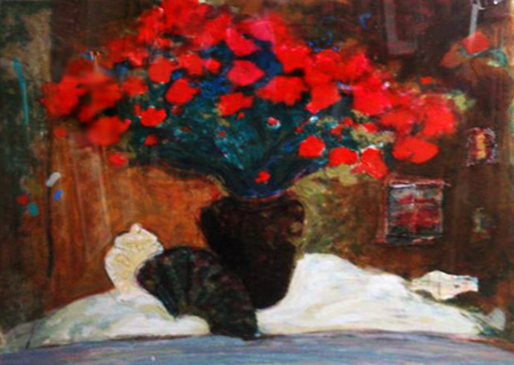 Red Flowers 1990