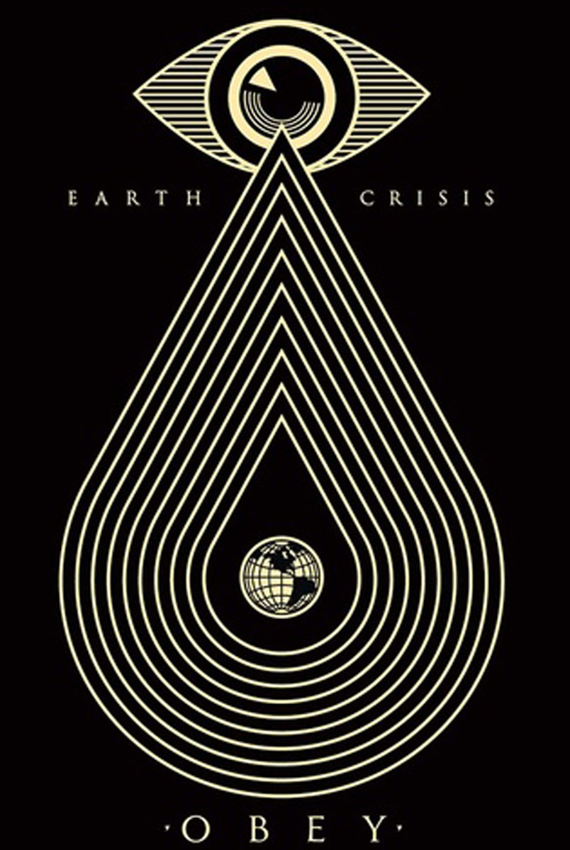 Obey Giant Earth Crisis Black 2014