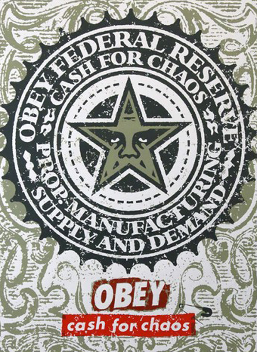Obey Cash For Chaos 2001