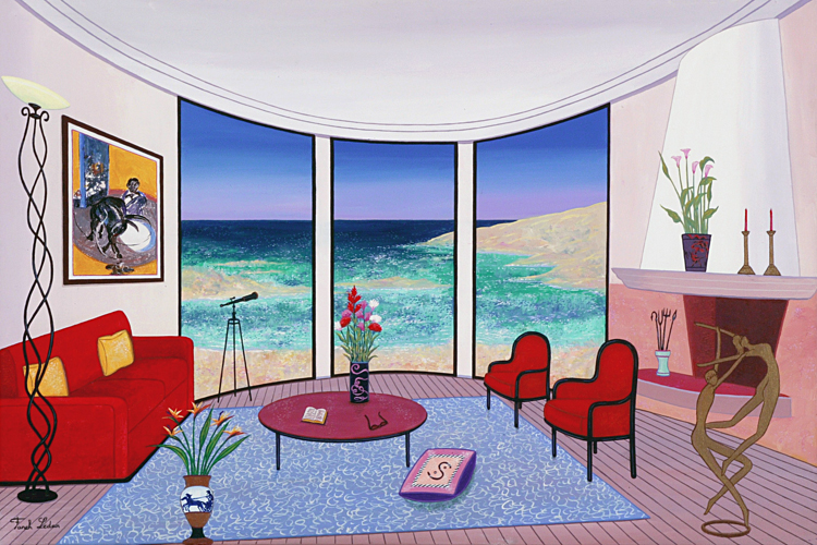 Interior with Francis Bacon 2005 22x32