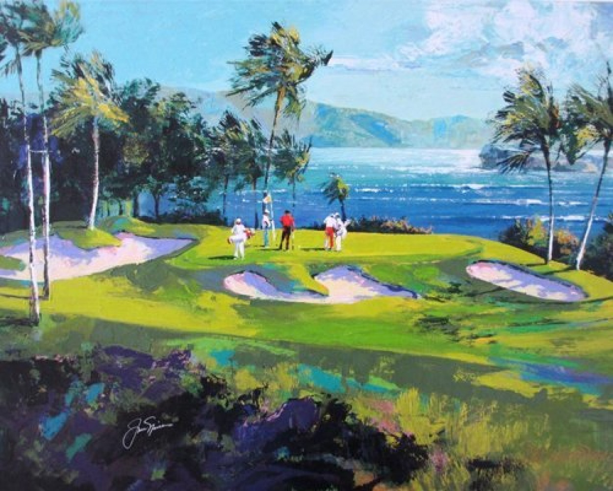 Maui Golf Embellished  2007